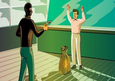 Złodzieje bitcoinów oskarżeni o rabunek w wysokości 300 000 $