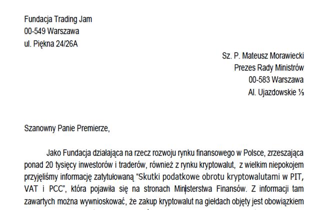 list-otwarty-do-premiera-fundacja-trading-jam