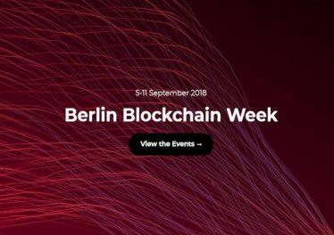 berlinblockchainweek
