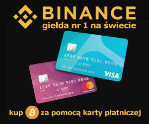 Binance - giełda nr 1 na świecie