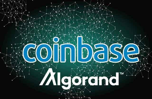 coinbase-gielda-algorand