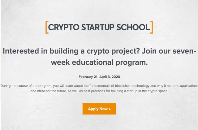 crypto-startup-school